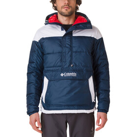Columbia Columbia Lodge Anorak Herrer, collegiate navy/white
